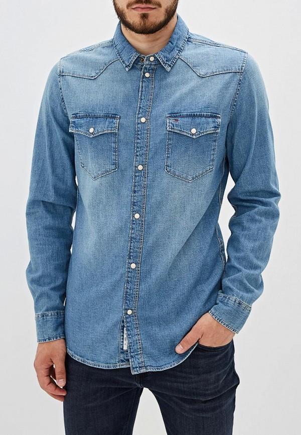 Рубашка джинсовая Tommy Jeans Tommy Jeans TO052EMFEMW5 tommy jeans джинсовая рубашка