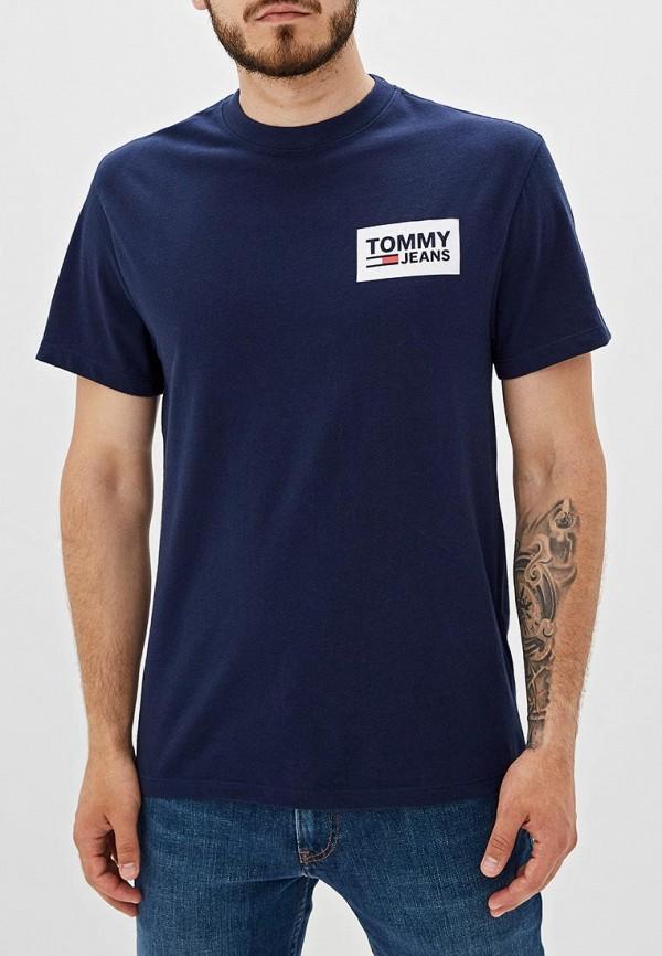 купить Футболка Tommy Jeans Tommy Jeans TO052EMFEMW6 по цене 3990 рублей