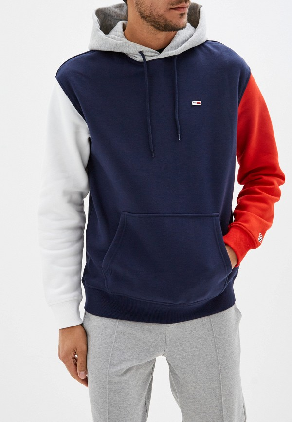 Худи Tommy Jeans Tommy Jeans TO052EMFVYB9 худи tommy jeans tommy jeans to052ewbicw8