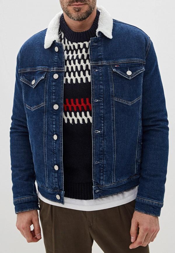Куртка джинсовая Tommy Jeans Tommy Jeans TO052EMFVYE8 tommy jeans джинсовая рубашка