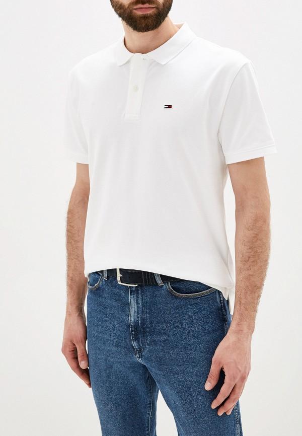 Поло Tommy Jeans Tommy Jeans TO052EMFVYH9 поло tommy jeans tommy jeans to052emfvyh8