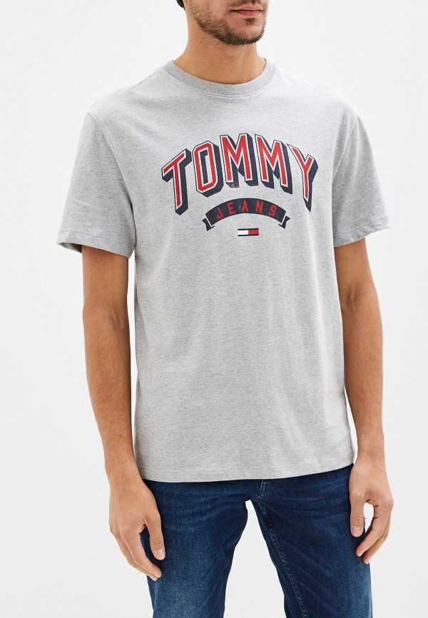 Футболка Tommy Jeans Tommy Jeans TO052EMFVYL2 футболка tommy jeans tommy jeans to052ewdecm6