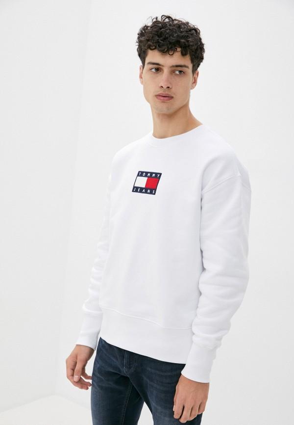 мужской свитшот tommy jeans, белый