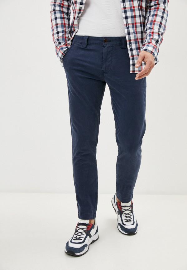 мужские брюки чинос tommy jeans, синие
