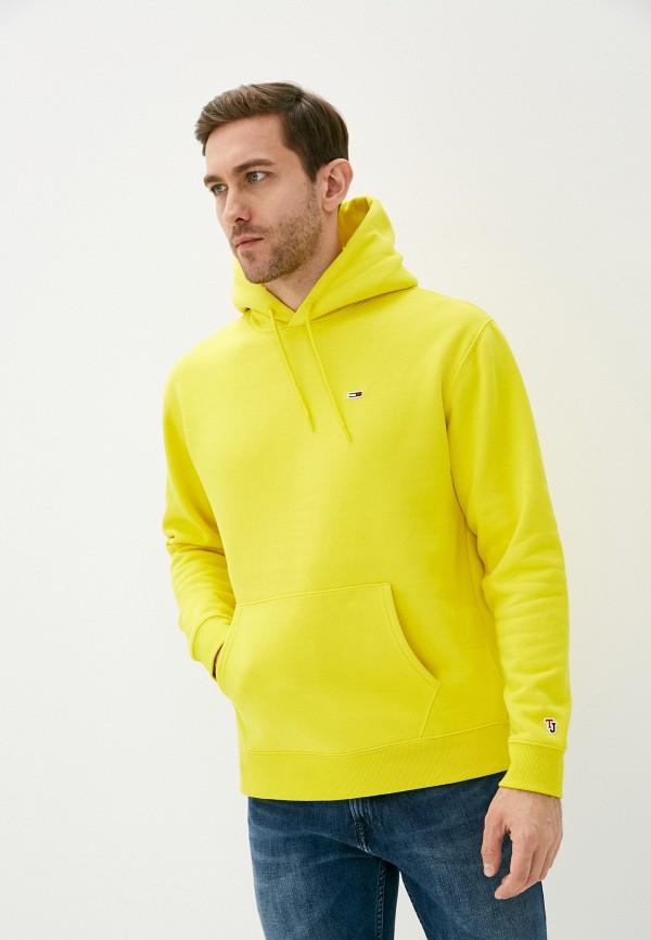 мужские худи tommy jeans, желтые