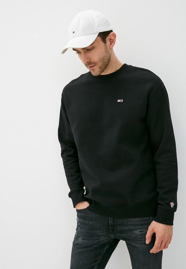 мужской свитшот tommy jeans, черный
