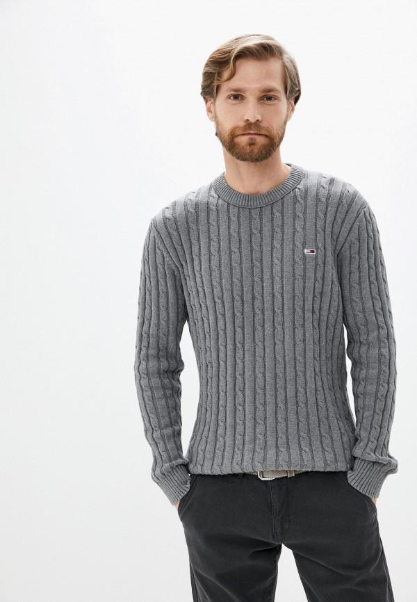 мужской джемпер tommy jeans, серый