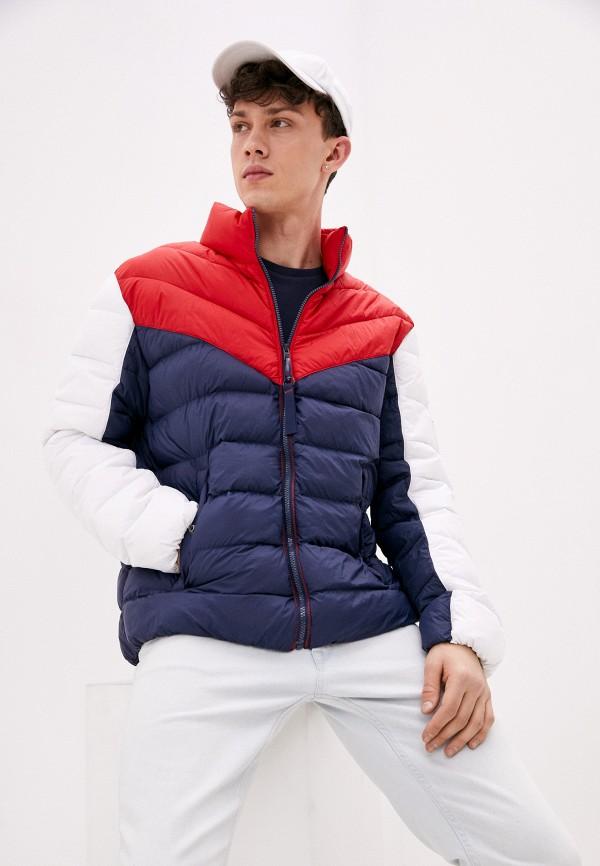 мужская куртка tommy jeans, разноцветная