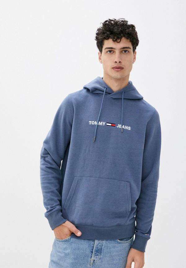 мужские худи tommy jeans, синие