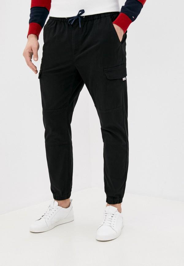 мужские повседневные брюки tommy jeans, черные
