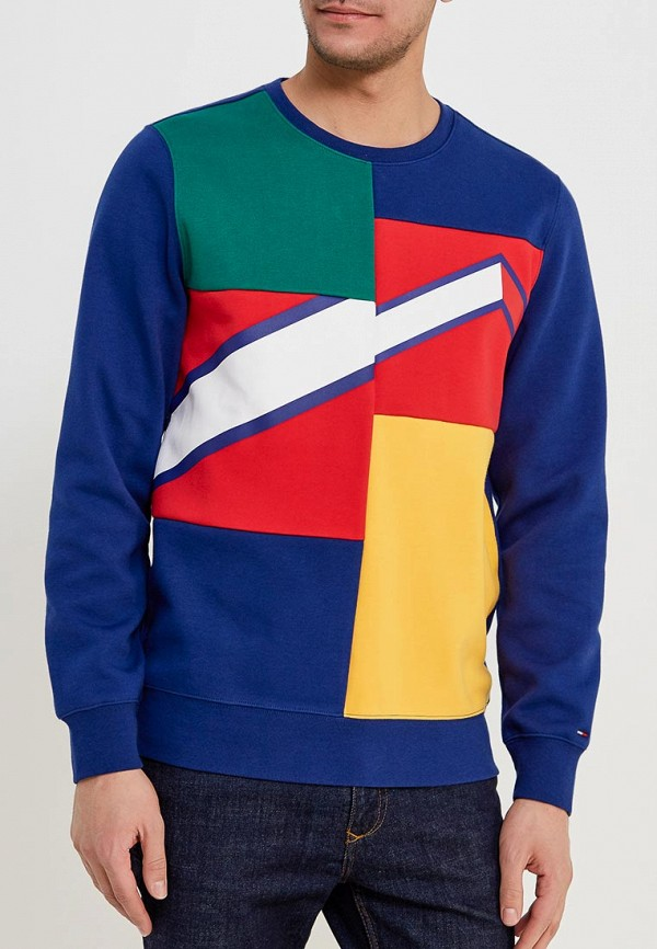 Свитшот Tommy Jeans Tommy Jeans TO052EMYZW31 свитшот tommy jeans tommy jeans to052emyzw29