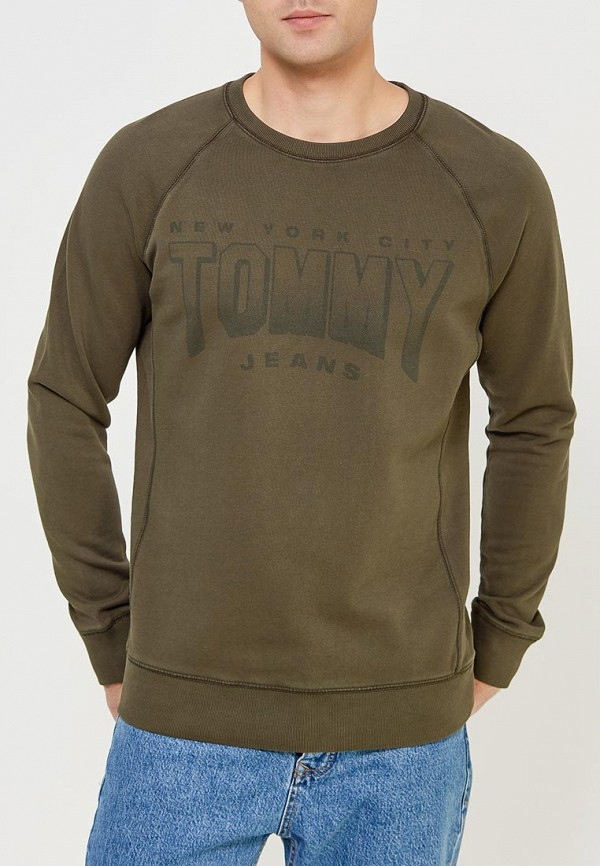 Свитшот Tommy Jeans Tommy Jeans TO052EMYZW32 свитшот tommy jeans tommy jeans to052emyzw30