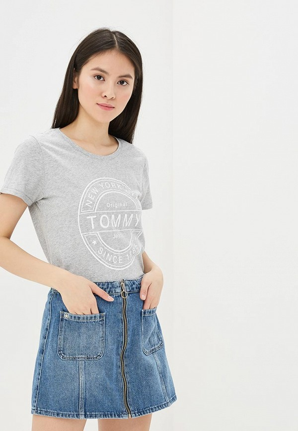 Футболка Tommy Jeans Tommy Jeans TO052EWAIIJ2 uglybros 03 fireproof lining motorcycle jeans riding jeans fashion men s jeans