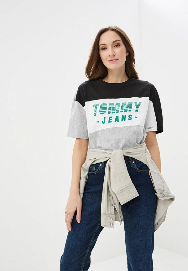 Футболка Tommy Jeans Tommy Jeans TO052EWAIIJ8 футболка tommy jeans tommy jeans to052ewbwgj0