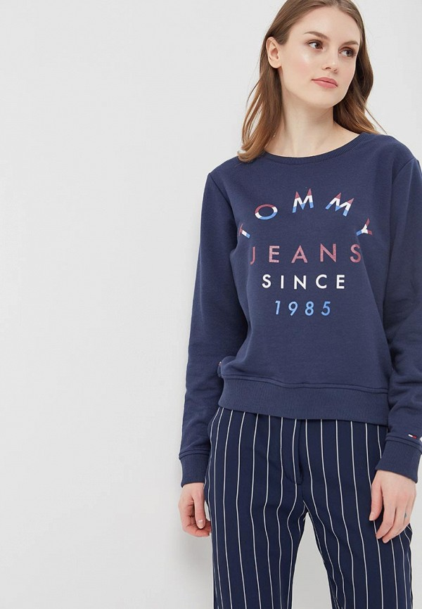 Свитшот Tommy Jeans Tommy Jeans TO052EWAIIL3 свитшот tommy jeans tommy jeans to052ewbide6