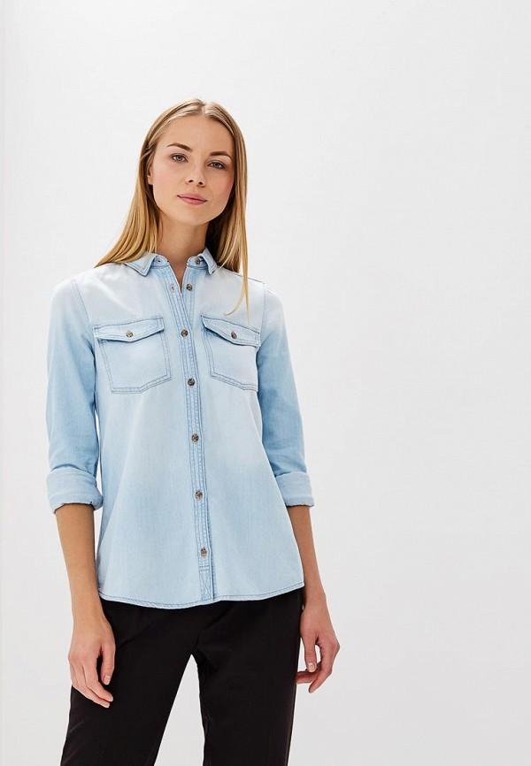 Купить Рубашка джинсовая Tommy Jeans, TO052EWAIIN9, голубой, Весна-лето 2018
