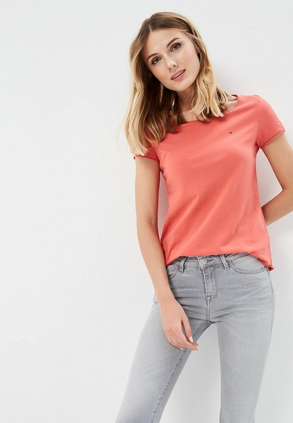Футболка Tommy Jeans Tommy Jeans TO052EWAIJB2 свитшот tommy jeans tommy jeans to013emyzs95