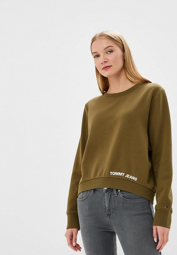 Свитшот Tommy Jeans Tommy Jeans TO052EWBICW0 свитшот tommy jeans tommy jeans to052emaihl1