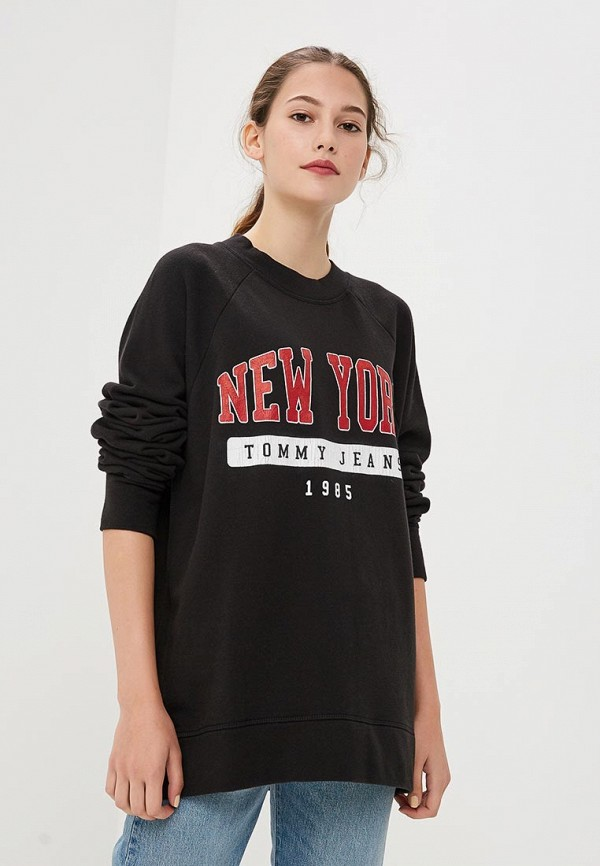 Свитшот Tommy Jeans Tommy Jeans TO052EWBICW1 свитшот tommy jeans tommy jeans to052emaihl1