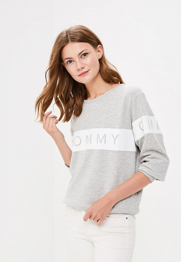 Свитшот Tommy Jeans Tommy Jeans TO052EWBICW2 свитшот tommy jeans tommy jeans to013emyzs95