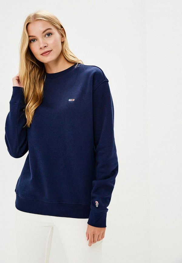 Свитшот Tommy Jeans Tommy Jeans TO052EWBICW4 свитшот tommy jeans tommy jeans to052embwav4