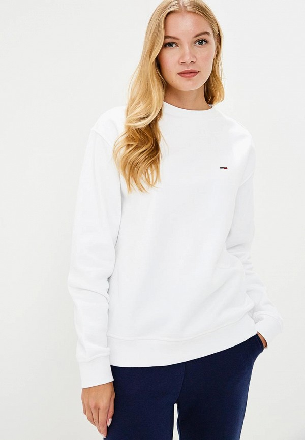 Свитшот Tommy Jeans Tommy Jeans TO052EWBICW6 свитшот tommy jeans tommy jeans to052embhru5