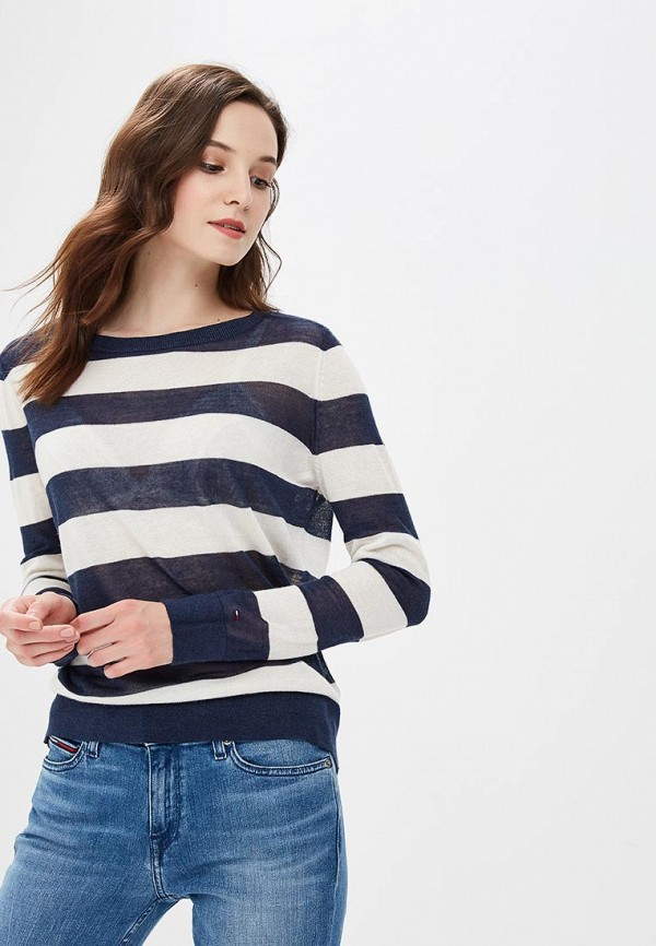 Джемпер Tommy Jeans Tommy Jeans TO052EWBICX6 stylish pocket design skinny capri ripped jeans for women