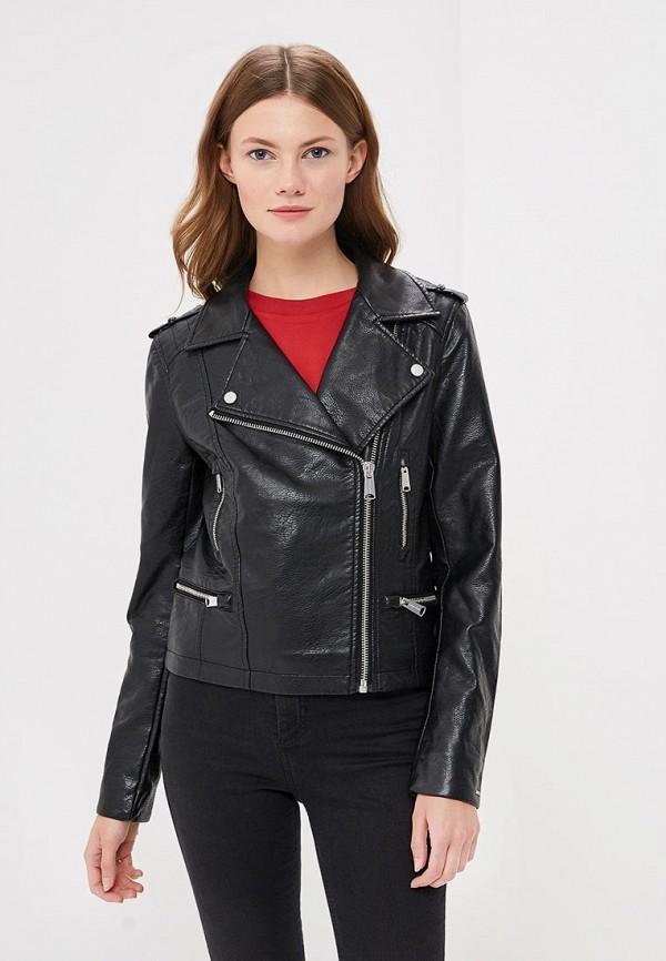 Купить Куртка кожаная Tommy Jeans, TO052EWBICY8, черный, Осень-зима 2018/2019