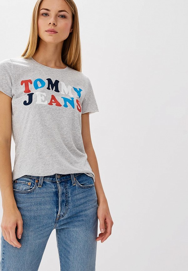 Футболка Tommy Jeans Tommy Jeans TO052EWBICZ3 футболка tommy jeans