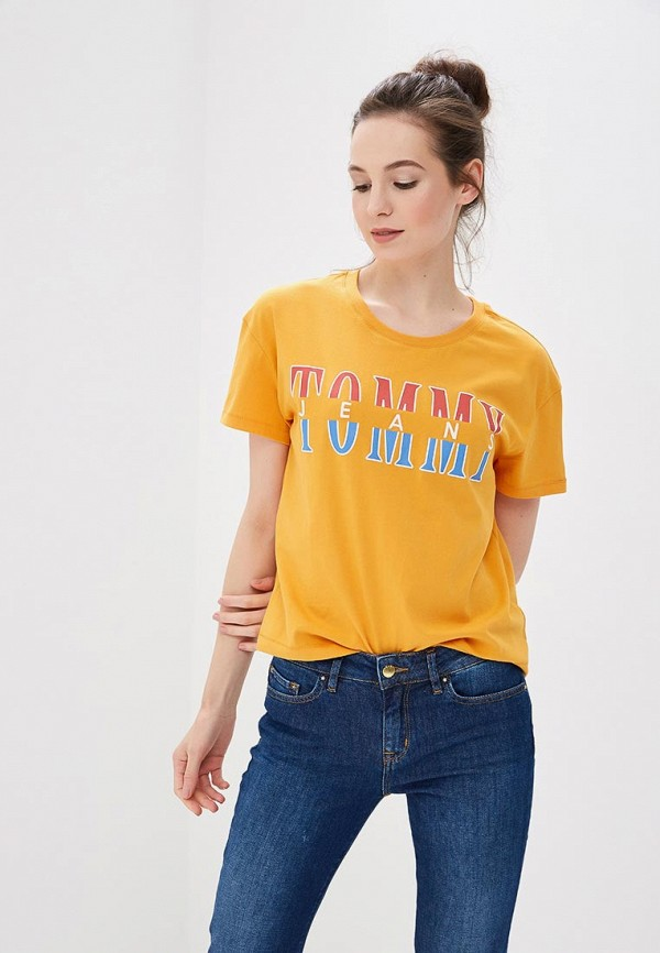 Футболка Tommy Jeans Tommy Jeans TO052EWBIDA6 свитшот tommy jeans tommy jeans to013emyzs95