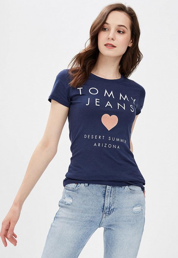 Футболка Tommy Jeans Tommy Jeans TO052EWBIDA7 футболка tommy jeans