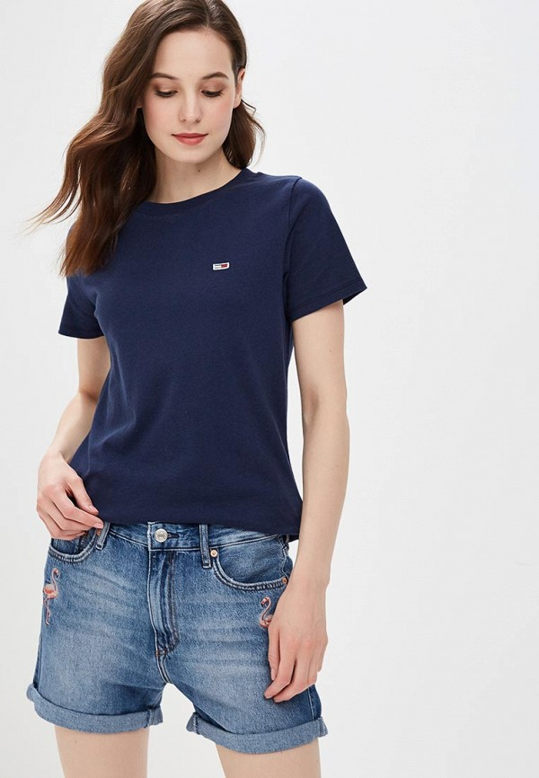 Футболка Tommy Jeans Tommy Jeans TO052EWBIDB7 футболка tommy jeans