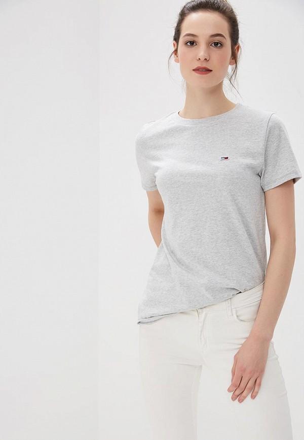 купить Футболка Tommy Jeans Tommy Jeans TO052EWBIDB8 по цене 3490 рублей