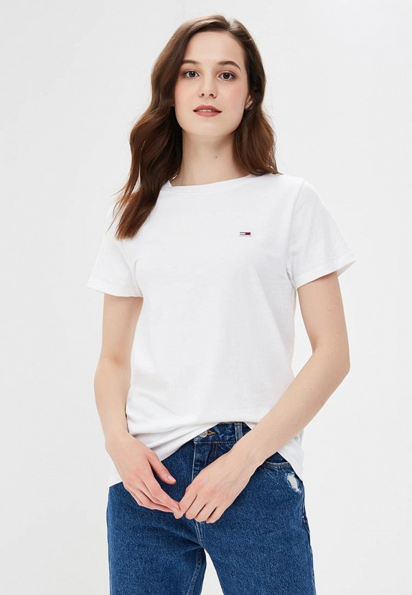 Футболка Tommy Jeans Tommy Jeans TO052EWBIDB9 футболка tommy jeans