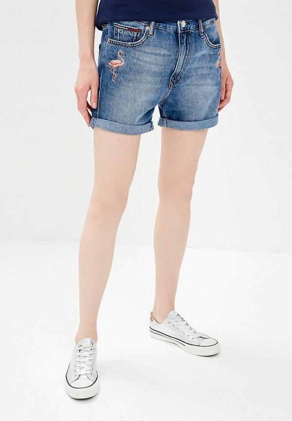 Шорты джинсовые Tommy Jeans Tommy Jeans TO052EWBIDI1 шорты для плавания tommy jeans tommy jeans to052emaiih6