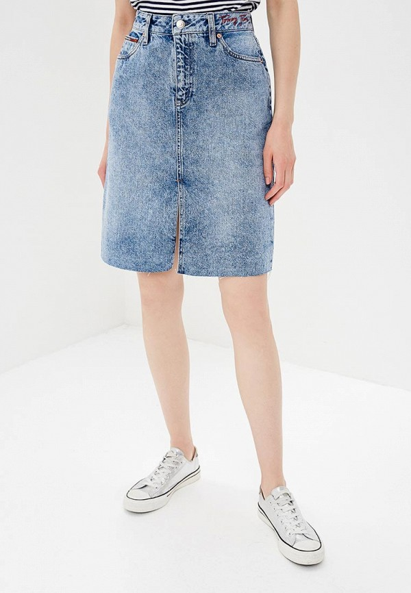 Юбка джинсовая Tommy Jeans Tommy Jeans TO052EWBIDI3 юбка tommy jeans tommy jeans to052ewaijc7