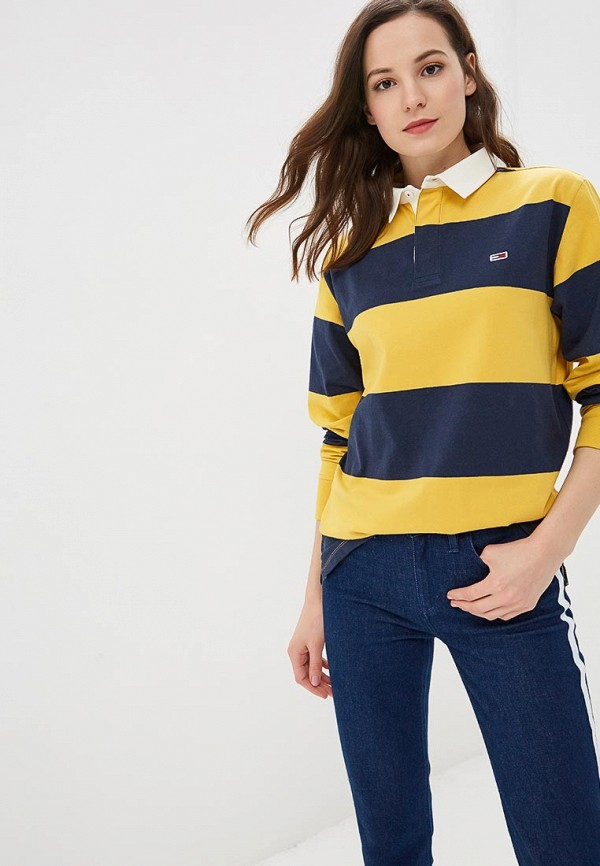 Поло Tommy Jeans Tommy Jeans TO052EWBWGA7 поло tommy jeans tommy jeans to052ewbwga7