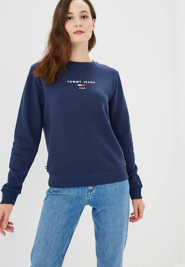 Свитшот Tommy Jeans Tommy Jeans TO052EWBWGA8 свитшот tommy jeans tommy jeans to013emyzs95