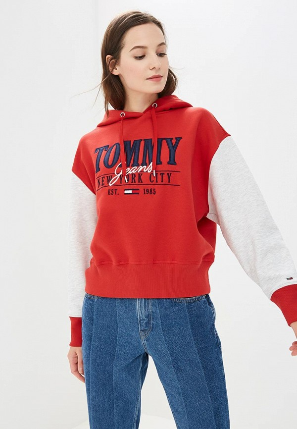 Худи Tommy Jeans Tommy Jeans TO052EWBWGB1 худи print bar fall out boy