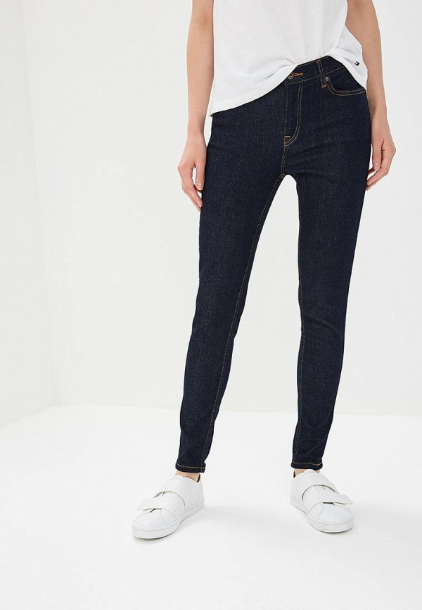 Джинсы Tommy Jeans Tommy Jeans TO052EWBWGK5 summer boyfriend jeans for women hole ripped white lace flowers denim pants low waist mujer vintage skinny stretch jeans female