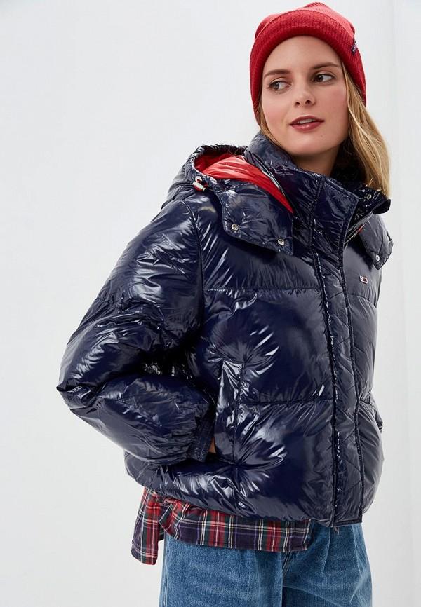 Купить Куртка утепленная Tommy Jeans, to052ewdecg8, синий, Весна-лето 2019