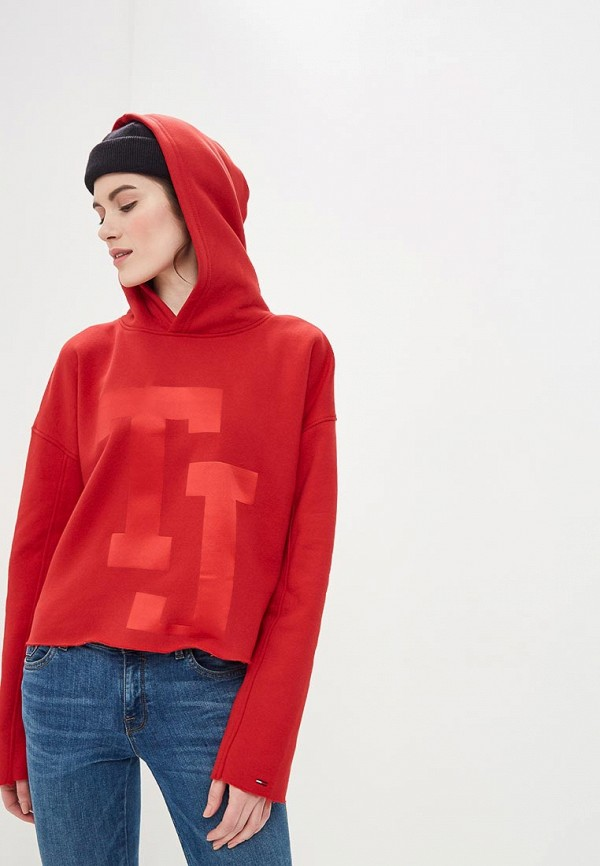 Худи Tommy Jeans Tommy Jeans TO052EWDECI0 худи tommy jeans tommy jeans to052embhru4