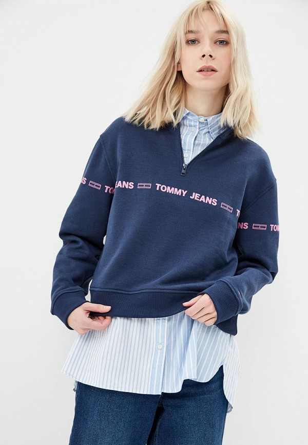 Свитшот Tommy Jeans Tommy Jeans TO052EWDECI3 свитшот tommy jeans tommy jeans to052embwao8