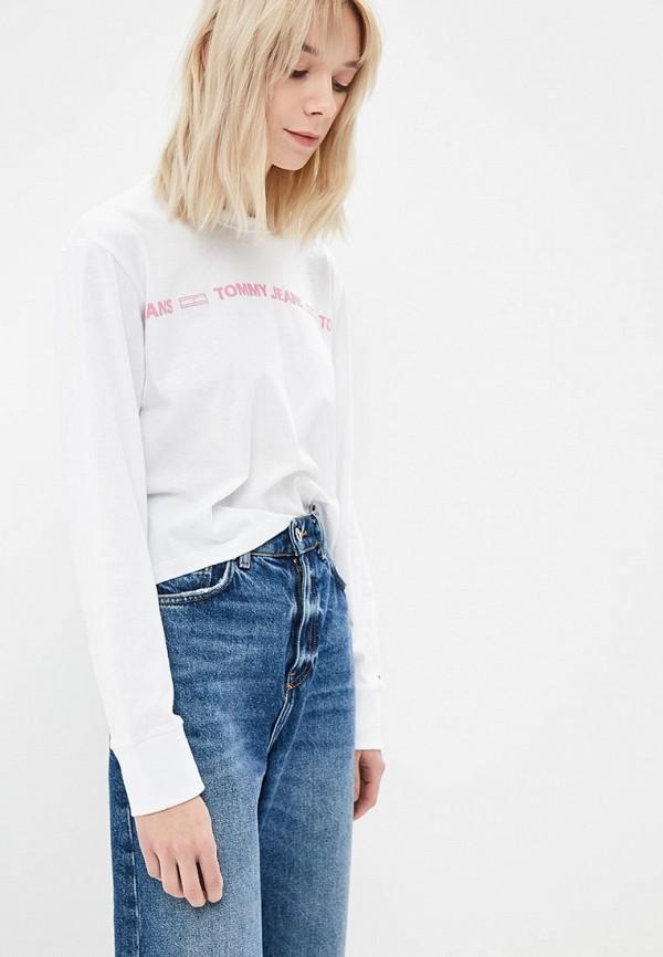 Лонгслив Tommy Jeans Tommy Jeans TO052EWDECJ7 свитшот tommy jeans tommy jeans to052emyzw29