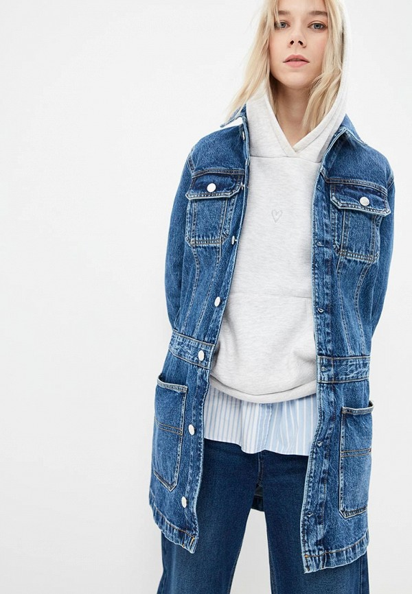 Куртка джинсовая Tommy Jeans Tommy Jeans TO052EWDECK8 куртка tommy jeans tommy jeans to052emaihn8