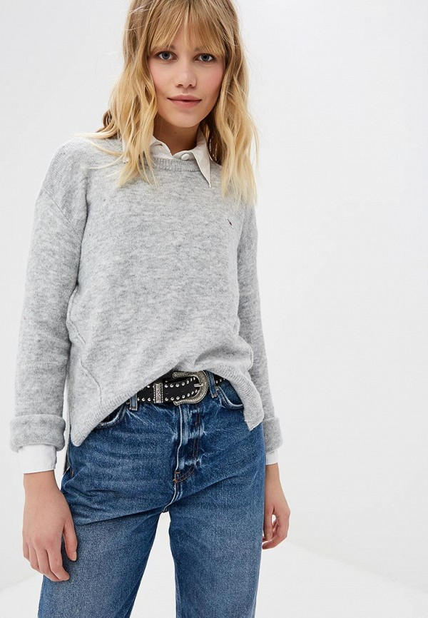 Джемпер Tommy Jeans Tommy Jeans TO052EWDECL0 свитшот tommy jeans tommy jeans to052emyzw29