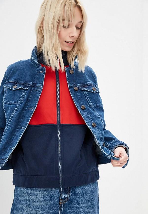 Куртка джинсовая Tommy Jeans Tommy Jeans TO052EWDECL3 куртка tommy jeans tommy jeans to052emaihn8