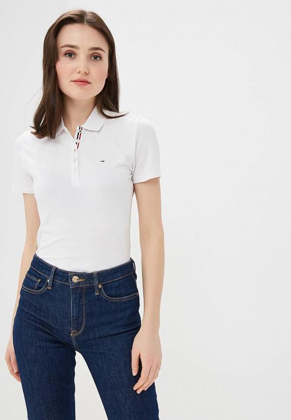Поло Tommy Jeans Tommy Jeans TO052EWDQOZ8 поло tommy jeans tommy jeans to052ewaijb6