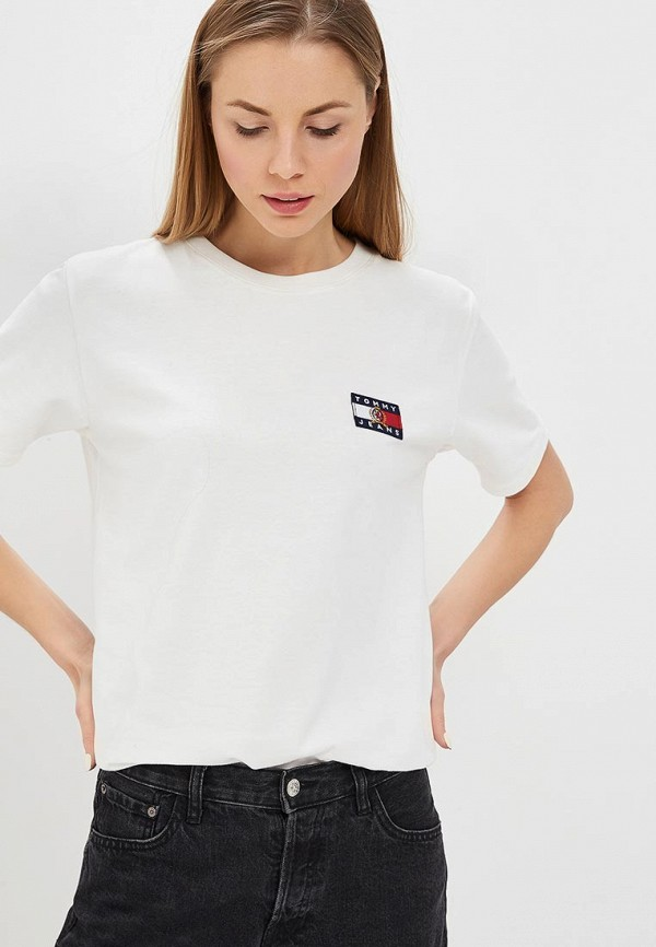 Футболка Tommy Jeans Tommy Jeans TO052EWDQPB3 футболка gloria jeans