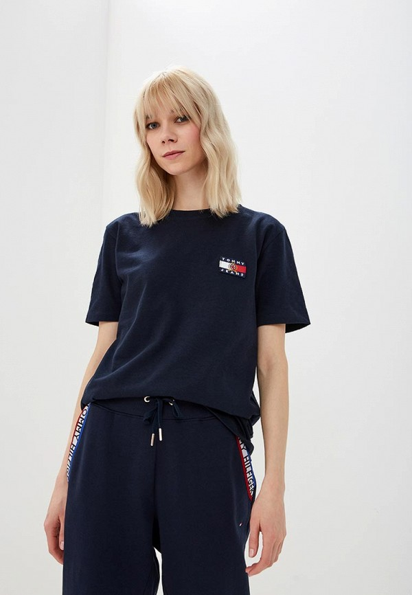 Футболка Tommy Jeans Tommy Jeans TO052EWDQPB5 футболка tommy jeans